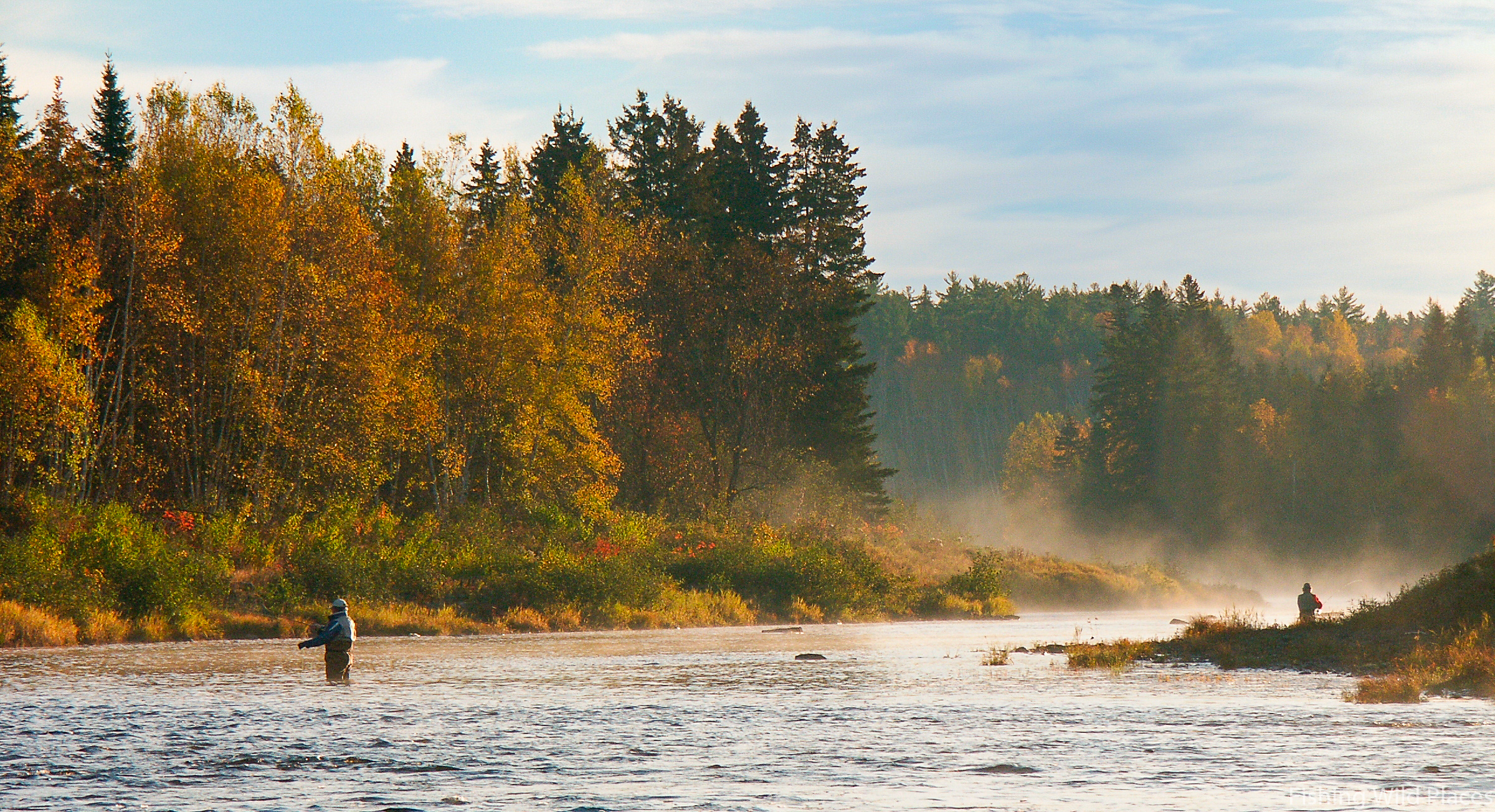 River Cains in Autumn